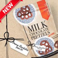Biancos 100% Australian Premium Fine Milk Chocolate Baked Pretzels Snack 500g