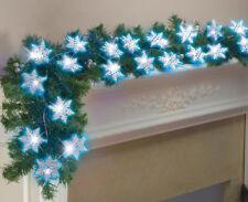 Glittery SNOWFLAKE STRING LIGHTS, Chrstmas Decor, NEW!