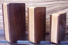 Walnut Oak Wood Mod Box Dual 18650 Enclosure cnc sx350j DNA 250 mosfet 1590B DIY