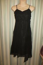 VINTAGE   ~ Black/Sequinns ~    DRESS * Size  6 *