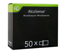 Andatech 50-Pack Alcosense Mouthpieces - Clear