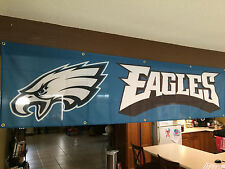 NFL PHILADELPHIA EAGLES NATION 8FT FLAG WENTZ FOLES SPROLES FOOTBALL SUPERBOWL