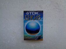 Cassette Vierge pour Camescope VHS-C TDK E-HG 45 - VHS C Neuf