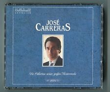 Jose Carreras 2 CD Box DIE COLLECTION SEINER GROSSEN MEISTERWERKE 1989 DCD 2243