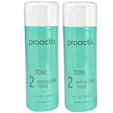 Proactiv Revitalizing Toner 2- 4 oz 120 Day 8 oz Proactive Solution USA version