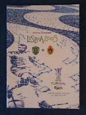 Sporting Lisbon v CSKA Moscow - UEFA Cup Final 2005 Programme