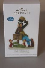 Hallmark Keepsake 2012 Disney Half-Off Hijinks! Goofy Chip n Dale Ornament - NEW