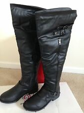 """OLIVIA MILLER"" OVER THE KNEE WOMENS BOOT SIZE11"