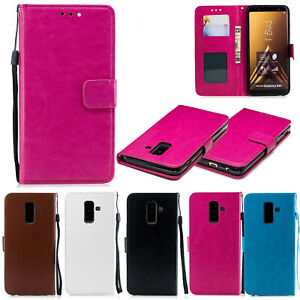 Flip Leather Wallet Magnetic Phone Case Cover For Samsung A40 A50 A60 iPhone 6S