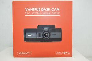 Vantrue T2 24/7 Recording Dash Cam Super Capacitor Parking Mode Car 1080p