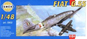 Fiat G.55 Centauro Italian fighter (1/48 model kit, Smer 0802)