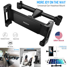 For Phone Tablet iPad Mini PC 360° Rotating Car Seat Headrest Mount Holder Stand