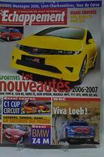 ECHAPPEMENT 464 / AVRIL 06 : BMW Z4 M ROADSTER ALFA ROMEO BRERA 3.2 V6 AUDI RS 4