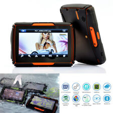 "4.3"" Bluetooth Motorcycle Touch Screen GPS Navigator w/ North America Maps 8GB"