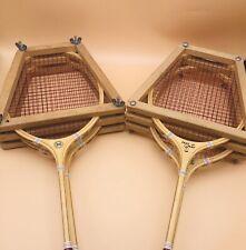 Vintage Set Spalding Fast Play Badminton Racquets