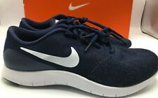 Nike Flex Contact Running Men's Shoes Size 8.5 Navy White 908983 403 NEW