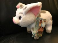 "Disney Store Authentic Moana Pua Pig Plush Toy Doll 9 1/2"" Stuffed Animal - NEW"