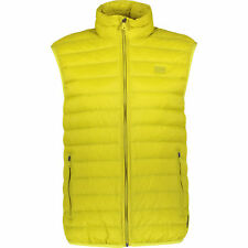 ARMANI JEANS Men's Yellow Down Padded Gilet, size Large