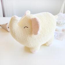 Decorative cream elephant pillows cushions bolsters plush toys home decor