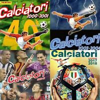 Serie A Calciatori Panini Albums from 2001 to 2020 -in PDF- Soccer (Read)