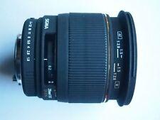 SIGMA PENTAX Fit EX DG 28 mm f/1.8 objectif FX + Bouchons + objectif SIGMA Case 28 mm 1.8