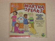 Chick-fil-A Kids Meal Toy CD Martha Speaks Martha and Friends 2 of 5