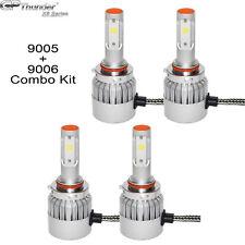 GP Thunder 9005+9006 Combo CREE LED Headlight Kit High&Low Beam Light Bulbs 4pcs