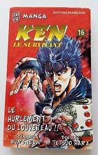Ken le survivant (hokuto no ken) J'ai Lu tome 16 le hurlement du louveteau