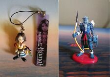 Final Fantasy X- X2- Yuna- Chibi Character Key Chain Strap & Ronso Mini Figure