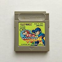 Nintendo Gameboy Rockman World 4 Megaman Japan GB