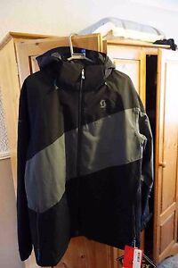 Scott Madden Mens Ski Snowboard Jacket BLACK/GREY