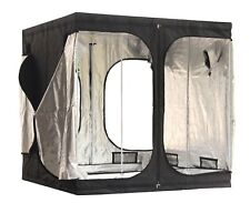 New Design 2 X 2 X 2m Portable Grow Tent Silver Mylar Hydroponic Dark Green Room