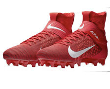 Nike Alpha Menace Elite 2 Flynit Cleats Size 8 Red Ao3374-600 - Red & White