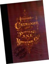 1877 Douglas Axe Mfr CATALOGUE Trade Sales Samples Models Adzes antique Tools