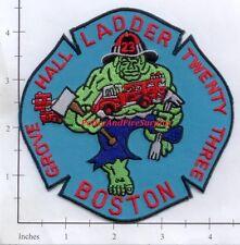 Massachusetts - Boston Ladder 23 MA Fire Dept Patch