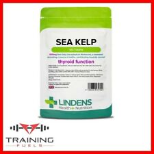 Lindens Sea Kelp 500mg 100 Tablets Thyroid Healthy Skin and Hair