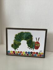 """Eric Carle """"The Very Hungry Caterpillar"""" Small Children's Art Print 7.5"""" x 5.75"""""""