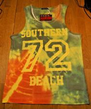 BNWT Belman VIP T- Shirt Southern beach 72 multicolor size L rare sleeveless