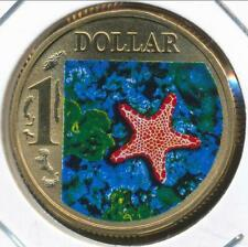 Australia, 2007 One Dollar, $1, Elizabeth II (Multicolor Biscuit Star) - Ch-Unc