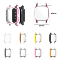For GarminVenuSQ Watch Protective Case All-inclusive Cover TUP Electroplating