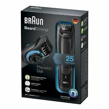 Braun Beard Trimmer BT5050 Beard Trimmer With Charging Dock/Complete Washable
