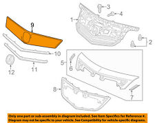 Acura HONDA OEM 12-14 TL-Grille Grill-Center 75125TK4A11