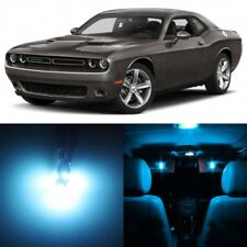 12 x ICE BLUE Interior LED Lights Package For 2015 - 2018 Dodge Challenger +TOOL