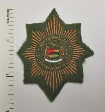 SOUTH AFRICA POLICE PATCH Small Size Original Vintage
