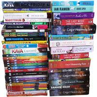 Joblot Wholesale of 50 New Fiction Books Set Pack Short Stories, Romance, Crime