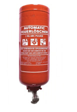 2 kg  Automatik Pulver - Feuerlöscher Löschanlage Automatischer Feuerlöscher