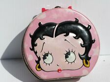 Vintage Betty Boop Metal Collectible Lunchbox