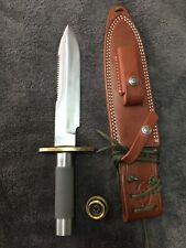 """randall knife model 18   7 1/2"""" Compass In Handle"""