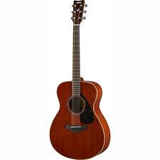 Yamaha FS850 FS Concrt Smal Solid Mahogany Body Acoustic Guitar Natural Gloss