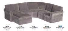 Sectional sofa Living Room Set dollhouse miniature furniture 1/12 scale new